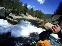 Brand New Liquid Logic Remix 69 running Ten Foot Falls on Wilson Creek