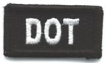 DOT patch for your hat or safety helmet of your choice!